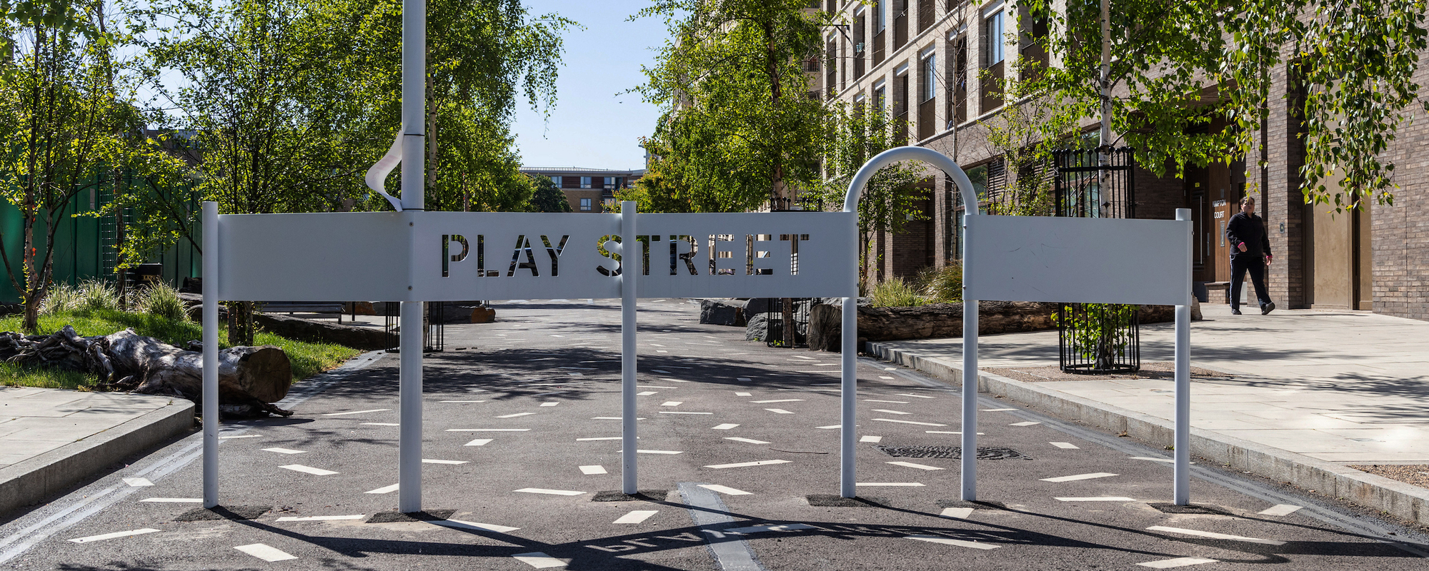 Play Street in Kings Crescent Estate, Hackney. Photo: John Sturrock