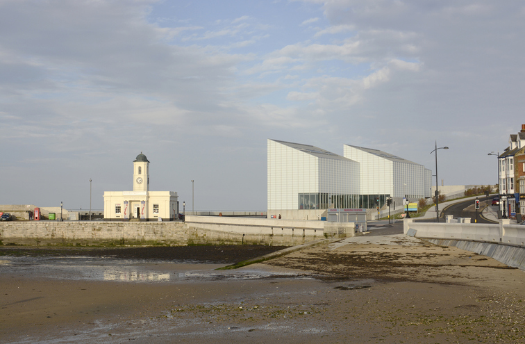 The Turner Contemporary art gallery in Margate